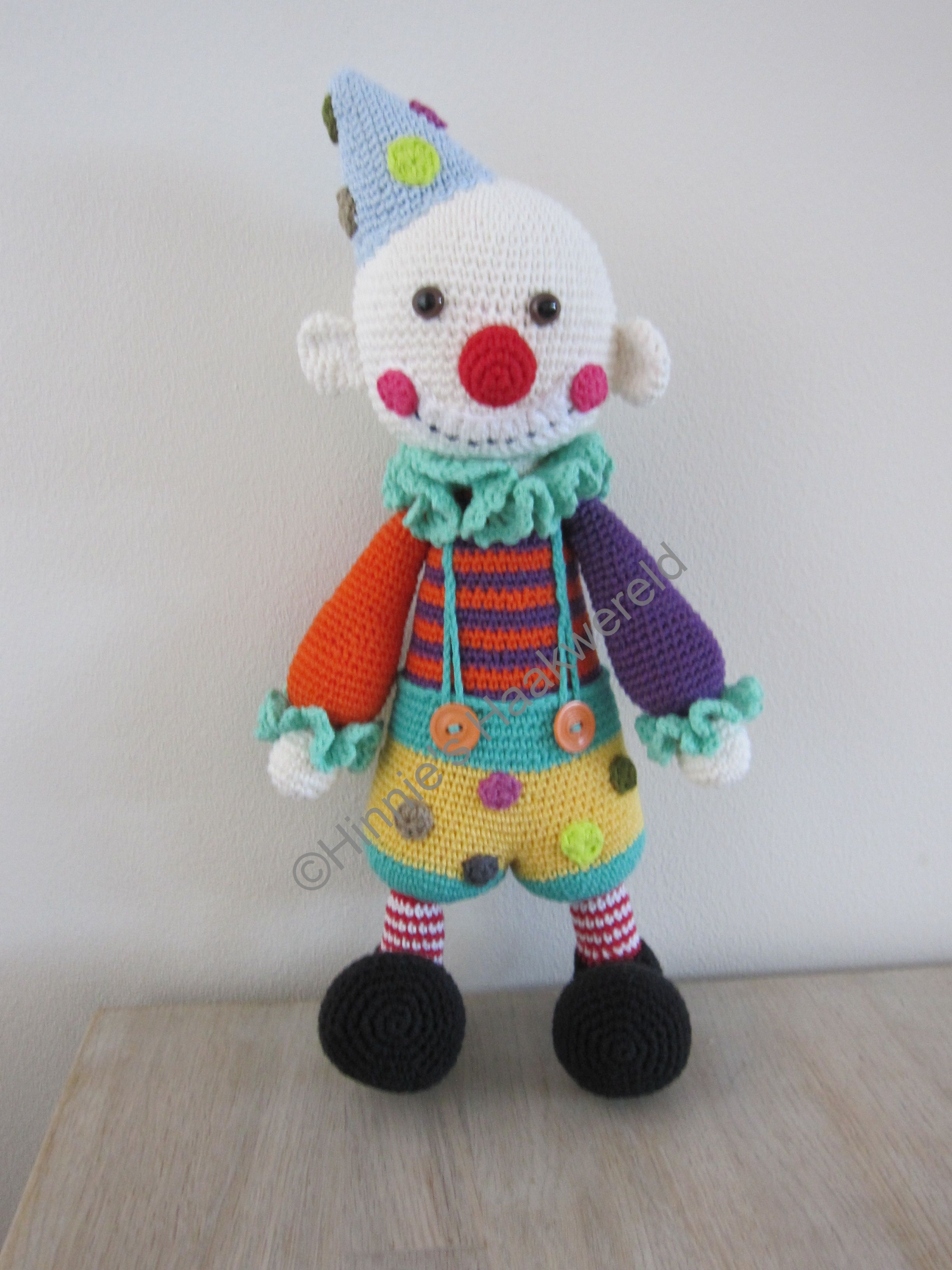 Chatterbox the Clown van Lilleliis. | 小丑 | Pinterest | Amigurumi ...
