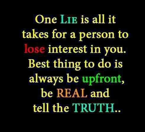 Quotes About Being Real And Honest