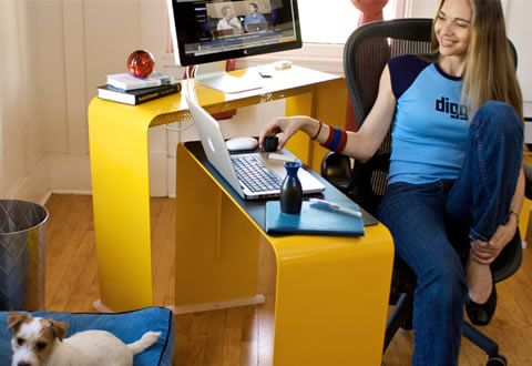 Apple Inspired Home Office Furniture   Design Reviver   Web Design Blog