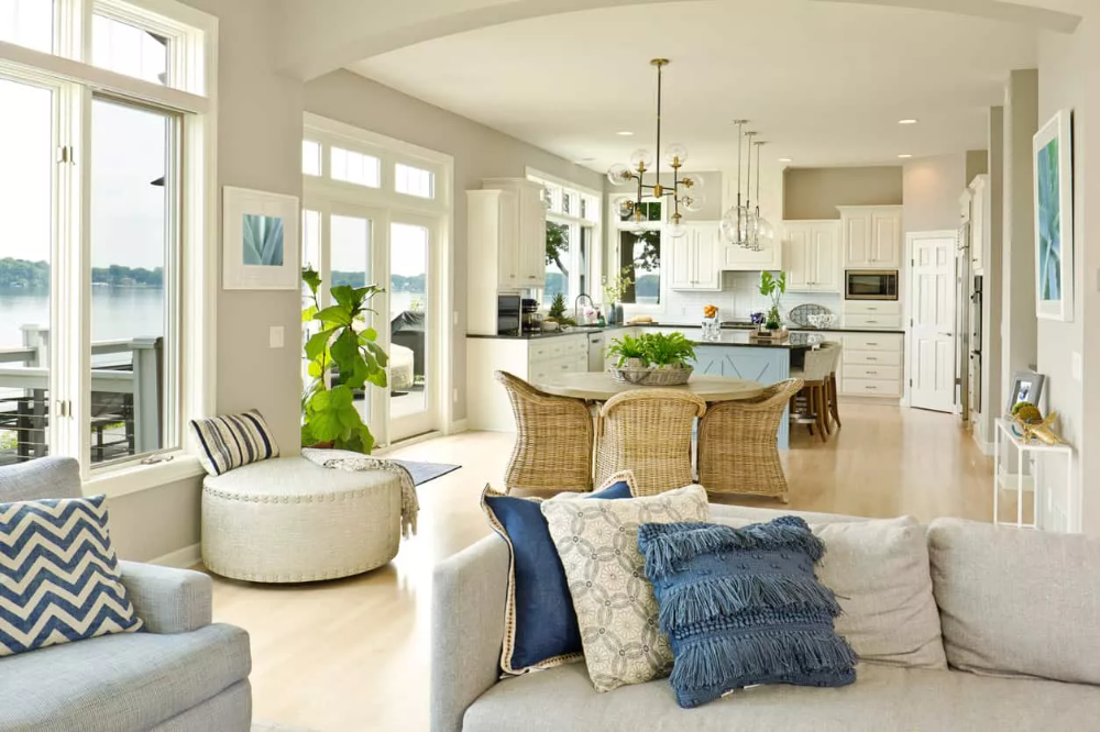 48 Open Concept Kitchen Living Room And Dining Room Floor Plan Ideas Open Concept Kitchen Living Room Open Plan Kitchen Living Room Open Concept Kitchen Living Room Layout