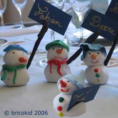 Bonhommes de neige en argile bricolages de no l pour l 39 cole pinterest bonhomme de neige - Pinterest bonhomme de neige ...