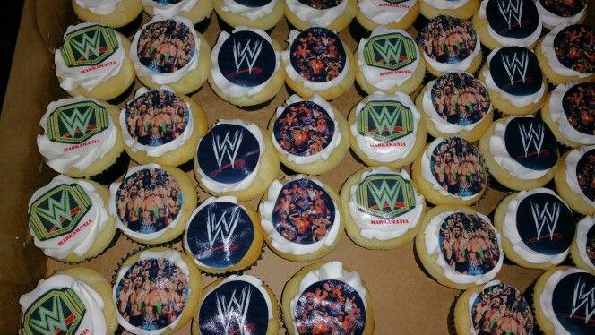 WWE Muffins by Cake Craze