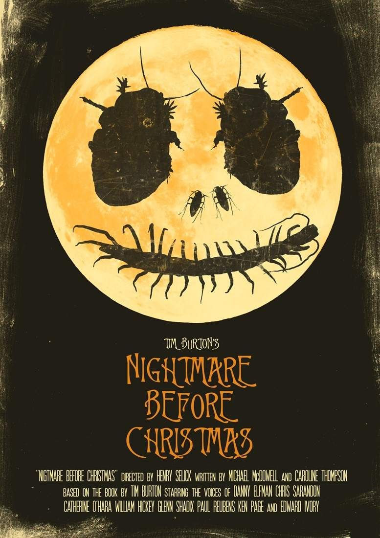 The Nightmare Before Christmas\' Cartel alternativo para \'Pesadilla ...