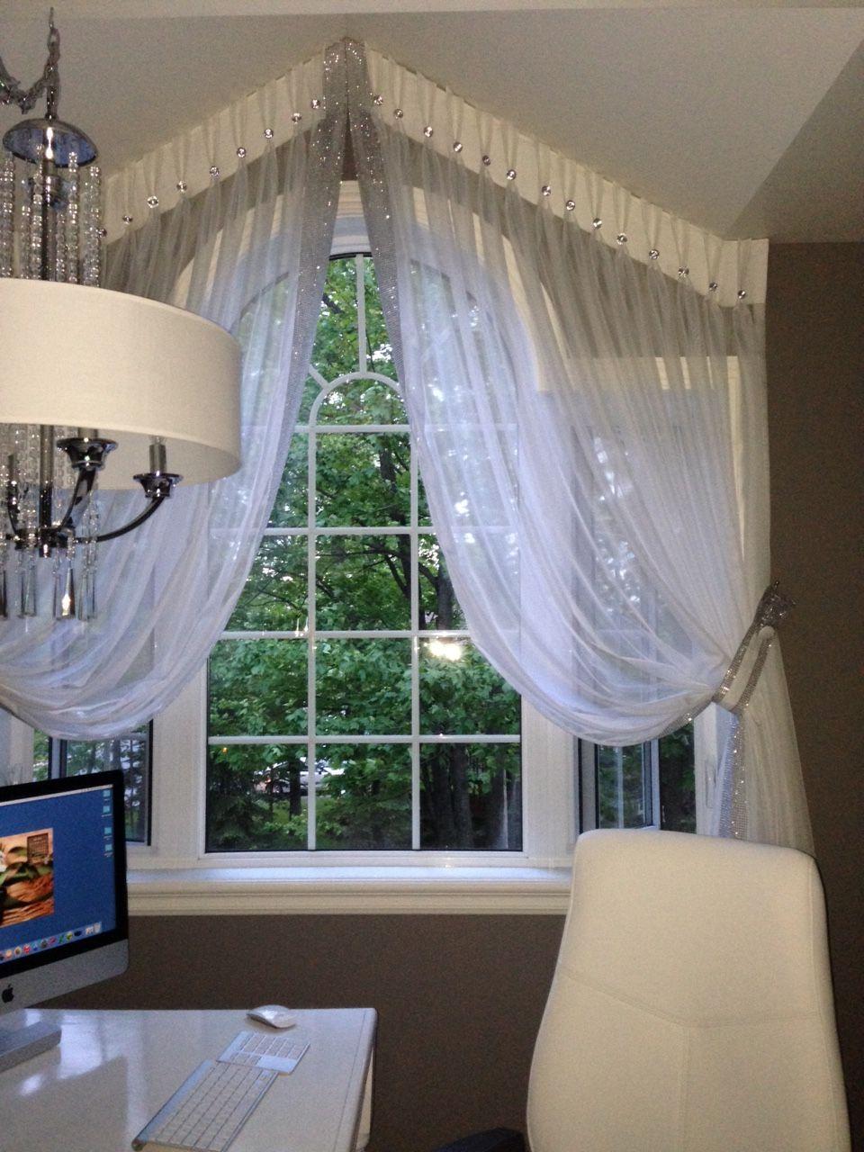 Type De Rideaux Pour Fenetre Cintrees rideaux a une fenêtre ronde | cortinas