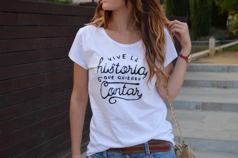 Moda que buen look hermosa y encantadora Descubre cómo crear camisetas completamente personalizadas ...