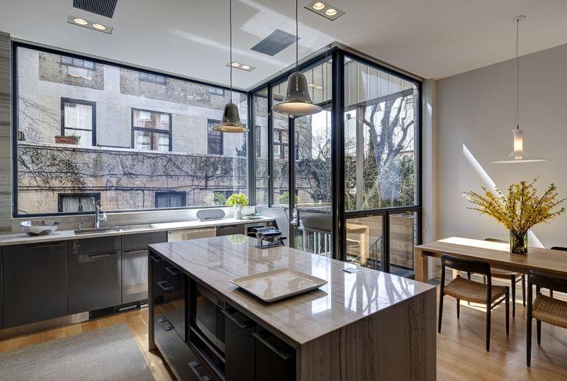 State Street Townhouse Kitchen In Brooklyn  Ben Hansen Architect Cool Brooklyn Kitchen Design Decorating Design