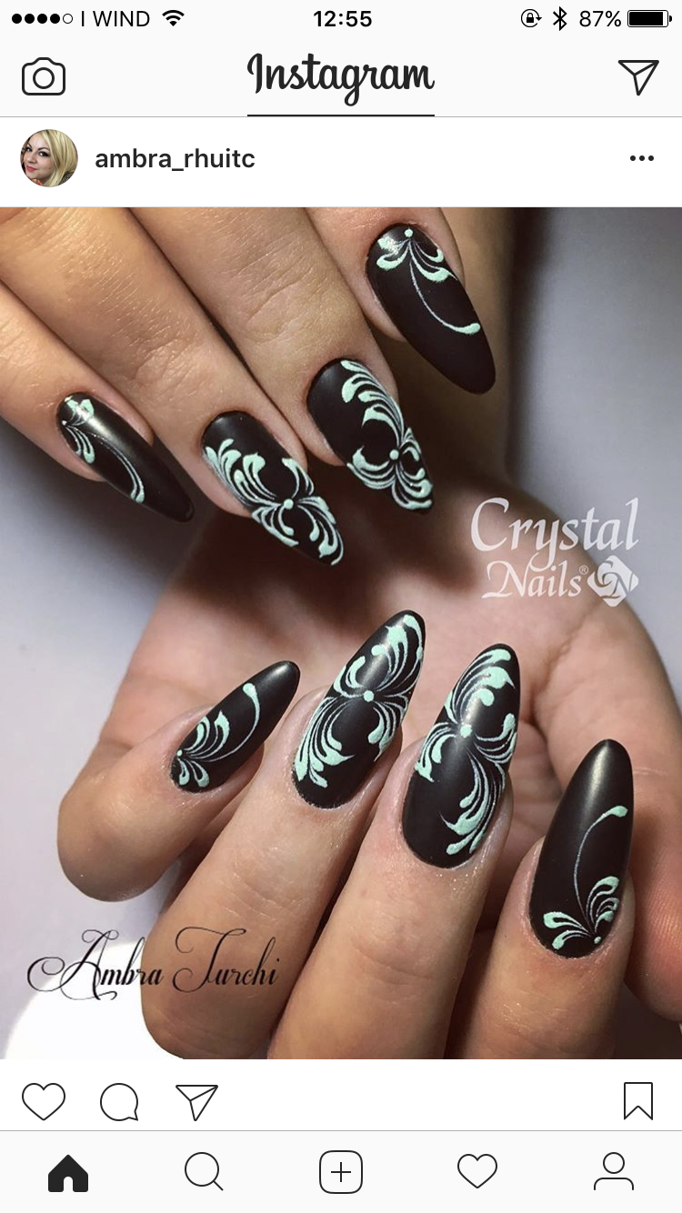 Pin by Sandy W on Fabulous Nails | Pinterest | Square nail designs ...