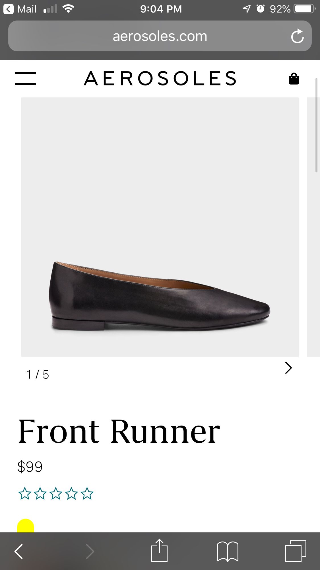 Pin By T Cooper On Shoe Problem Aerosoles Front Runner