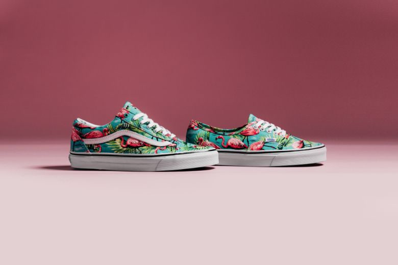vans authentic van doren flamingo skate shoe