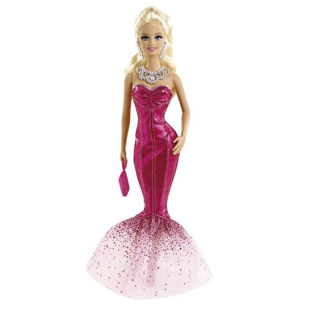 Boneca Barbie Vestidos Longos Ensaio Fotográfico Mattel - R$ 72,90 no MercadoLivre