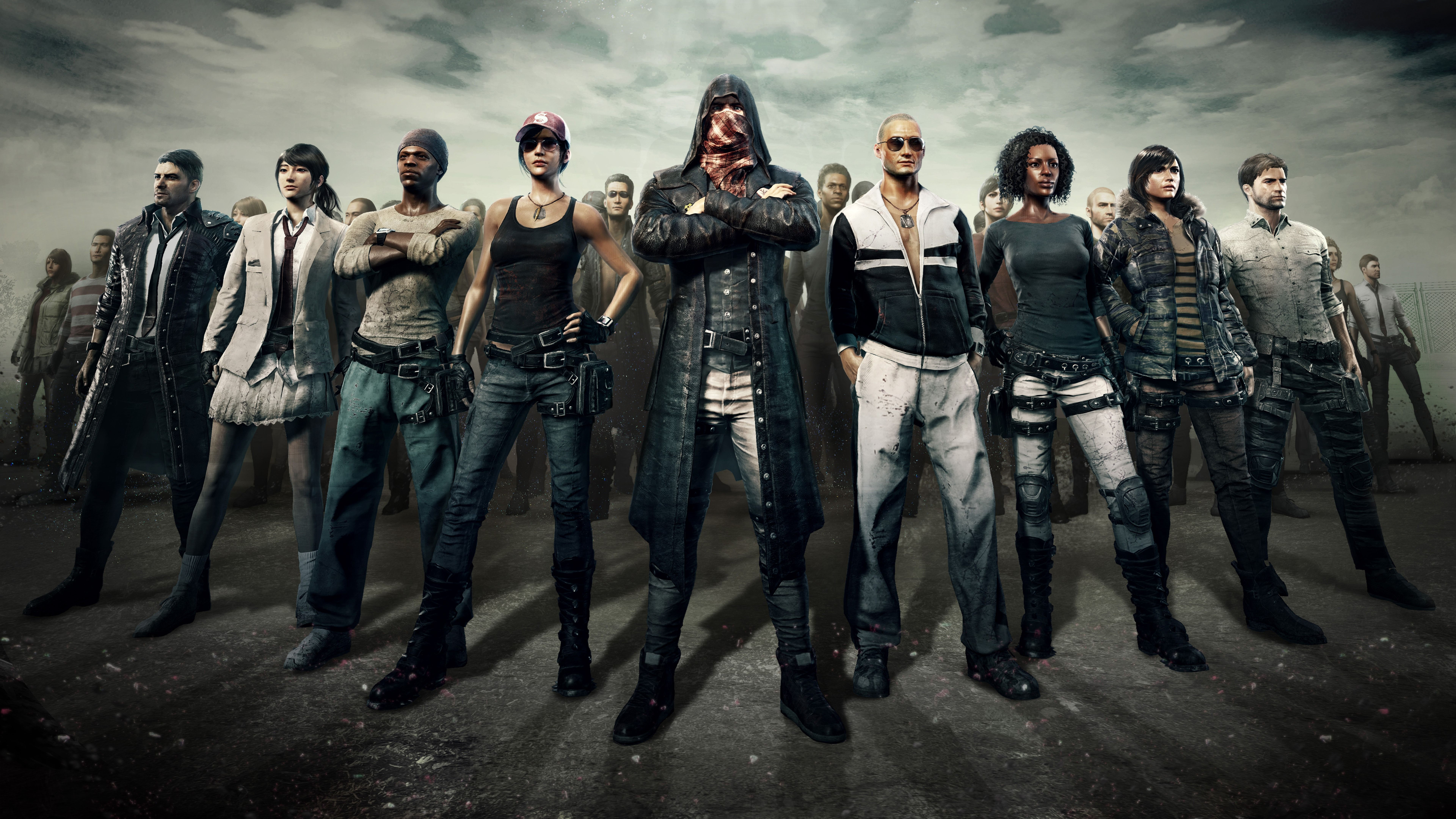 Pubg Playerunknown S Battlegrounds Characters 8k Wallpaper Playerunknown S Battlegrounds Pubg 8k Wallpaper Gaming Wallpapers Epic Games Netflix Movies