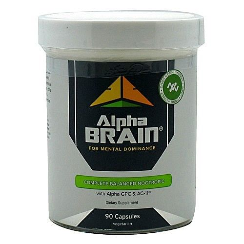 Onnit Labs Alpha Brain Nootropic Supplement Joe Rogan Awesome