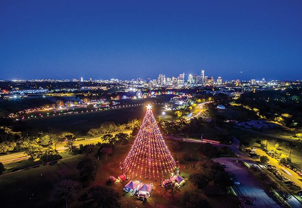 Spinning under Austin's Zilker Park Christmas Tree has become ...