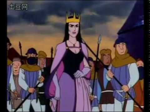 """The totally hot (albeit nasty) queen from the tale """"The Six Swans."""""""