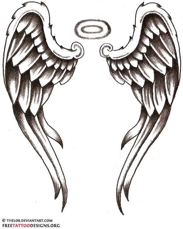 Free Tattoo Designs Angel Wing Tattoo Designs Description From Pinterest Com Take A Look Angel Wings Drawing Wings Tattoo Angel Wing Drawing Tattoo