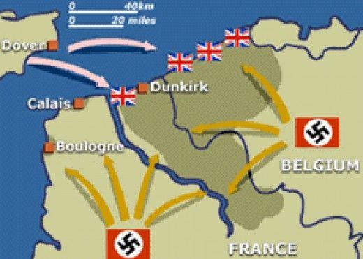 Map Of France Dunkirk.Dunkirk Operation Dynamo Google Search World War Ii Dunkirk