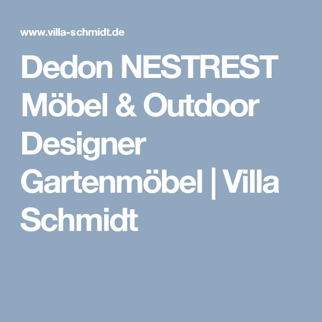 Dedon NESTREST Möbel & Outdoor Designer Gartenmöbel | Villa