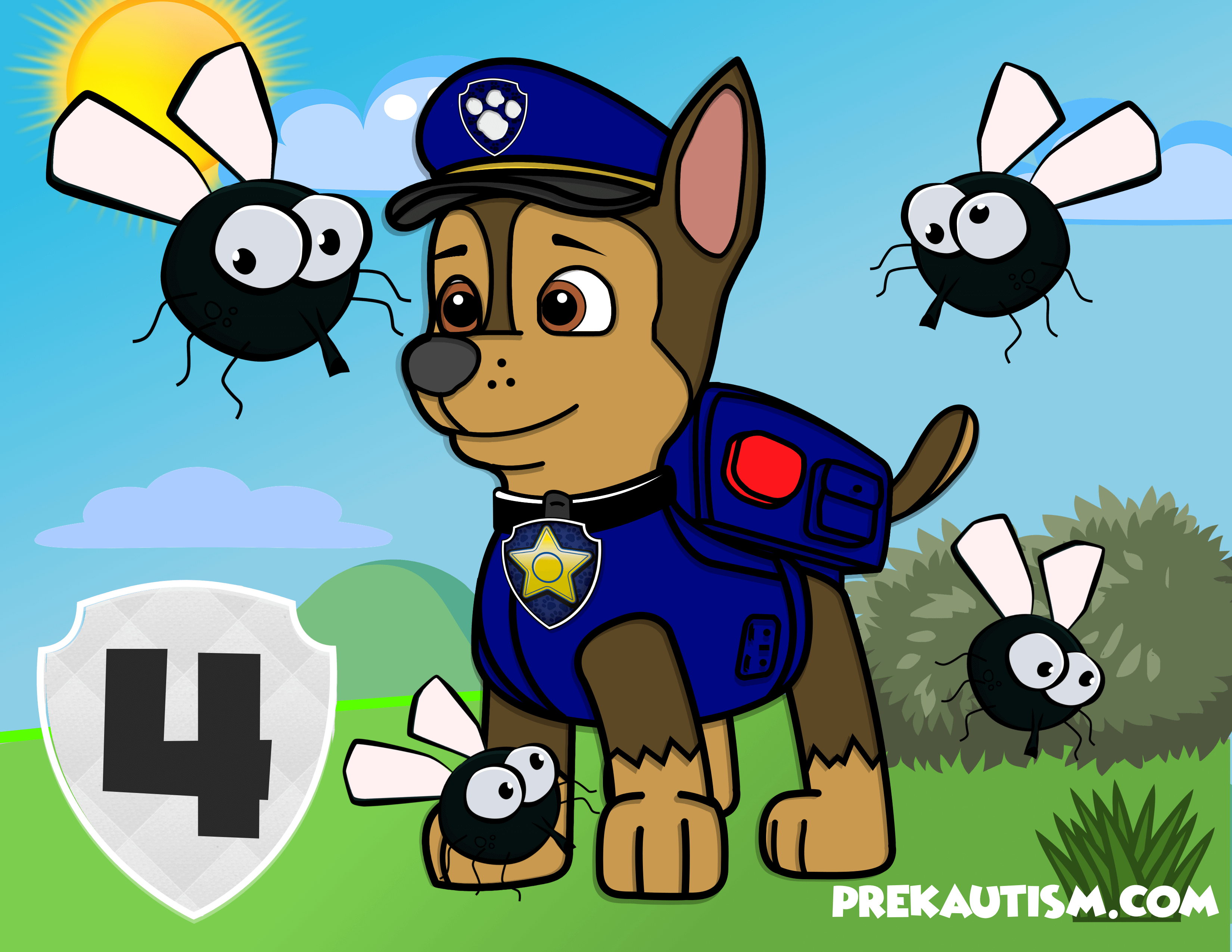 Free Paw Patrol Counting Mats Five Flies Paw Patrol Paw Preschool Activities [ 2550 x 3300 Pixel ]
