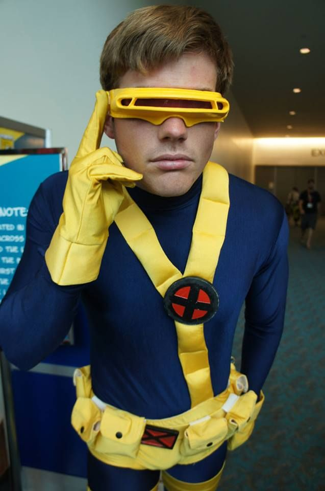 90s Cyclops costume from x-men by castle corsetry | Castle ...