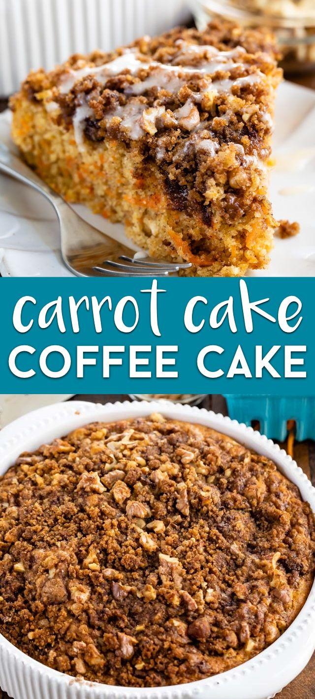 Carrot Coffee Cake | Recipe | Coffee cake, Cake recipes, Food