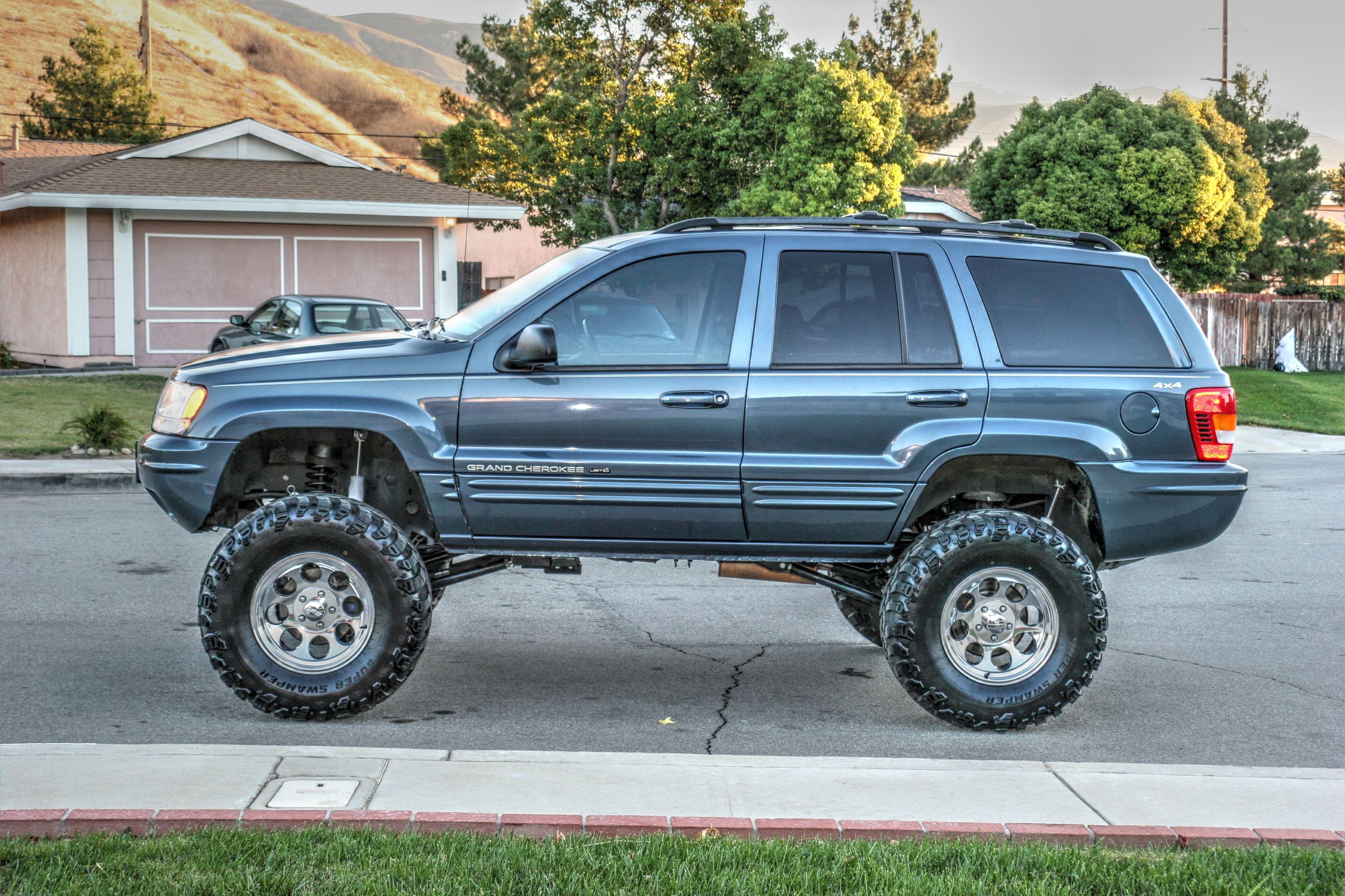 2000 jeep grand cherokee wj rockkrawler 6 5 lift 2. Black Bedroom Furniture Sets. Home Design Ideas