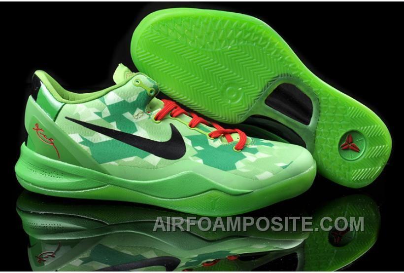 Nike Zoom Kobe VIII 8 Year of the Snake Black Green Volt