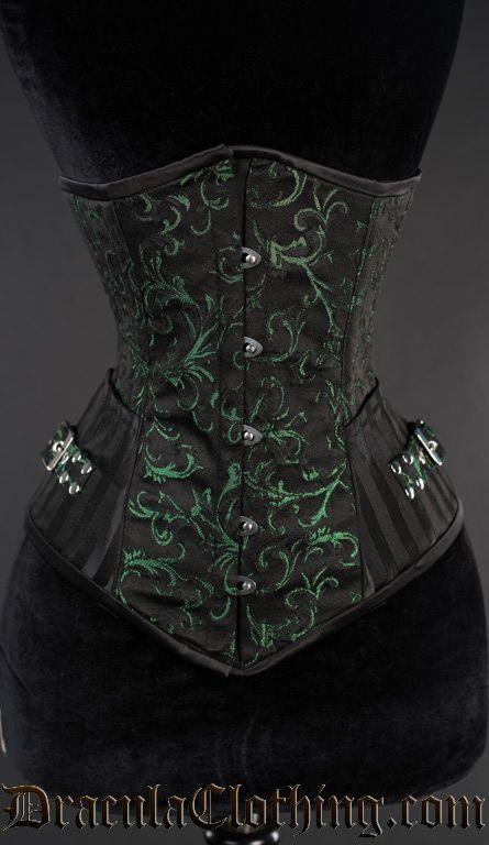 1d00dbabb2 Emerald Assassin Corset