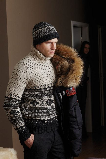 Cosy Fair Isle for men in SMC design S8659. Sweater and Hat ...