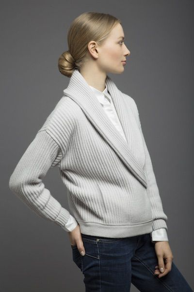 100%cashmere Bomber Jacket;collection CoSTANZA.P
