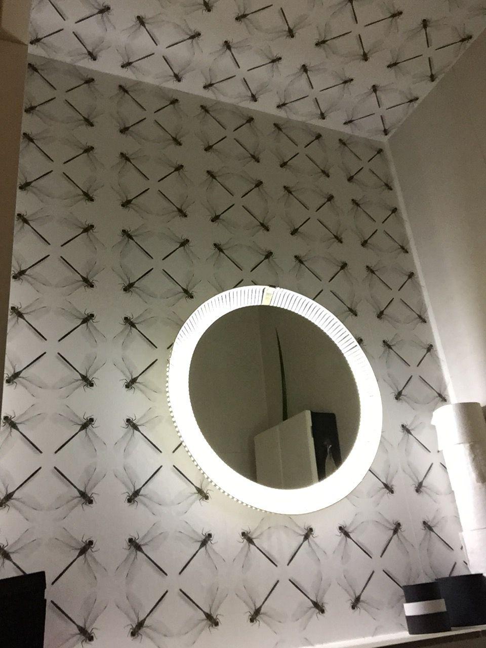 Wallpaper by @jaapsnijder #Snijder&Co #bathroom