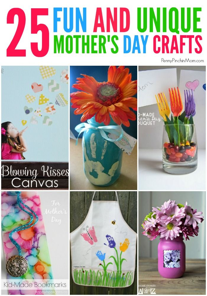 25 Kids Crafts For Mother S Day Fabulous Frugal Living Regalo