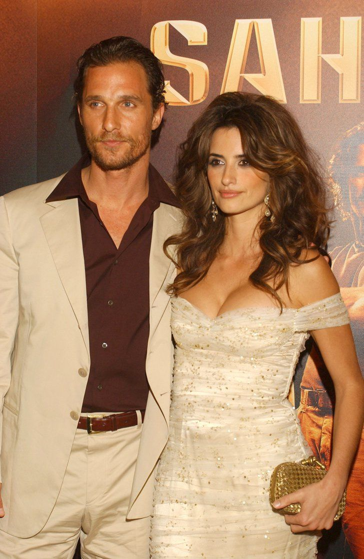 matthew mcconaughey and pen233lope cruz in 2005 penelope