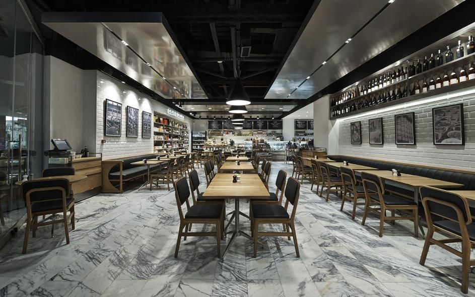 KONTRA Architecture - Project - Dean and Deluca in Turkey ...
