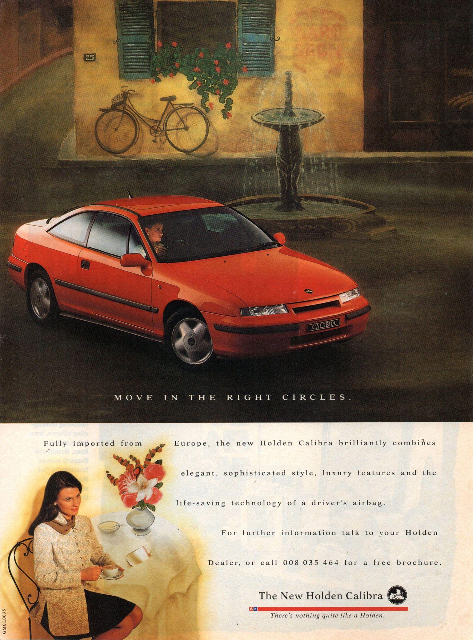 1994 Holden Calibra 2 Door