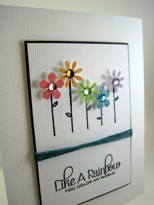 Some Fun Flowers In 2020 Flower Cards Cards Handmade Paper Cards