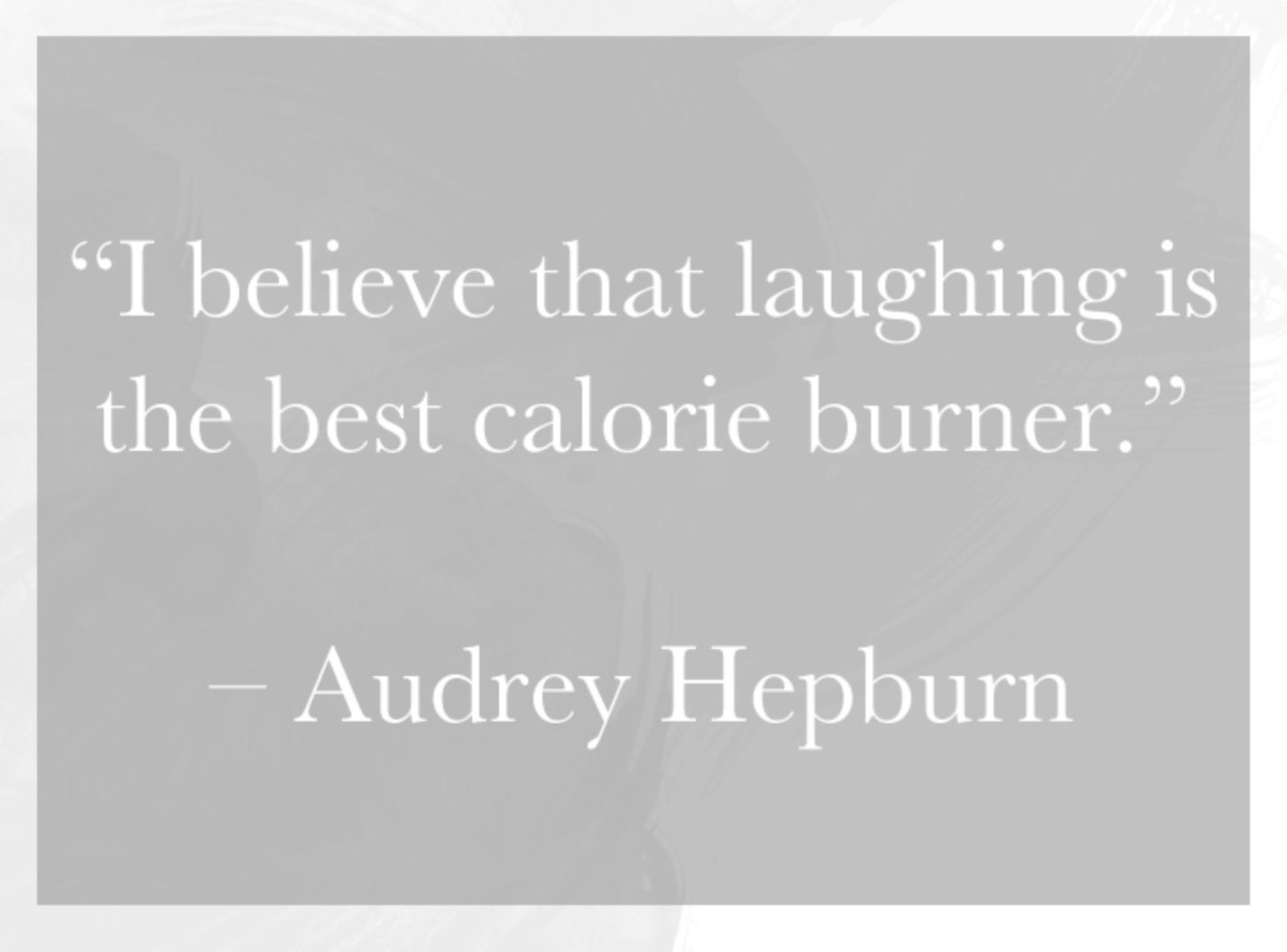 Audrey Hepburn Quote (About tomorrow smile pink miracles