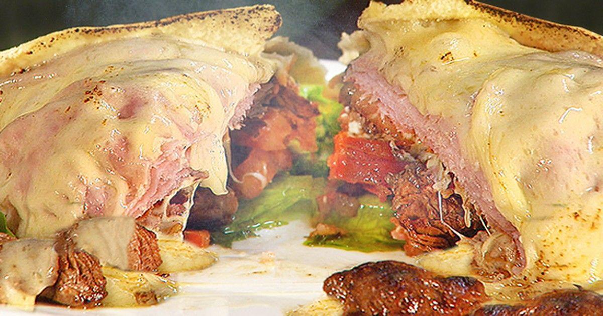 Beirute é sanduíche encorpado com o toque da maionese caseira