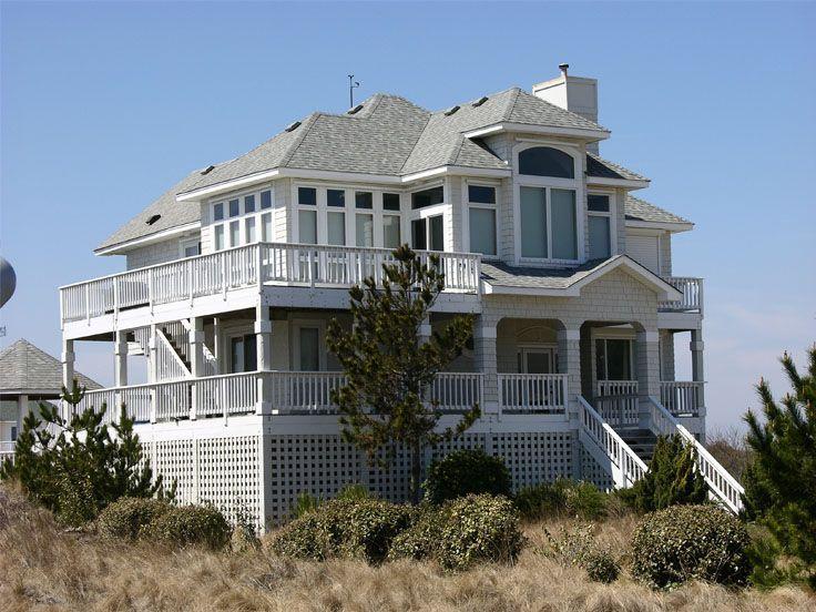 Beautiful Windows Beach House Plan House Plans Beach House