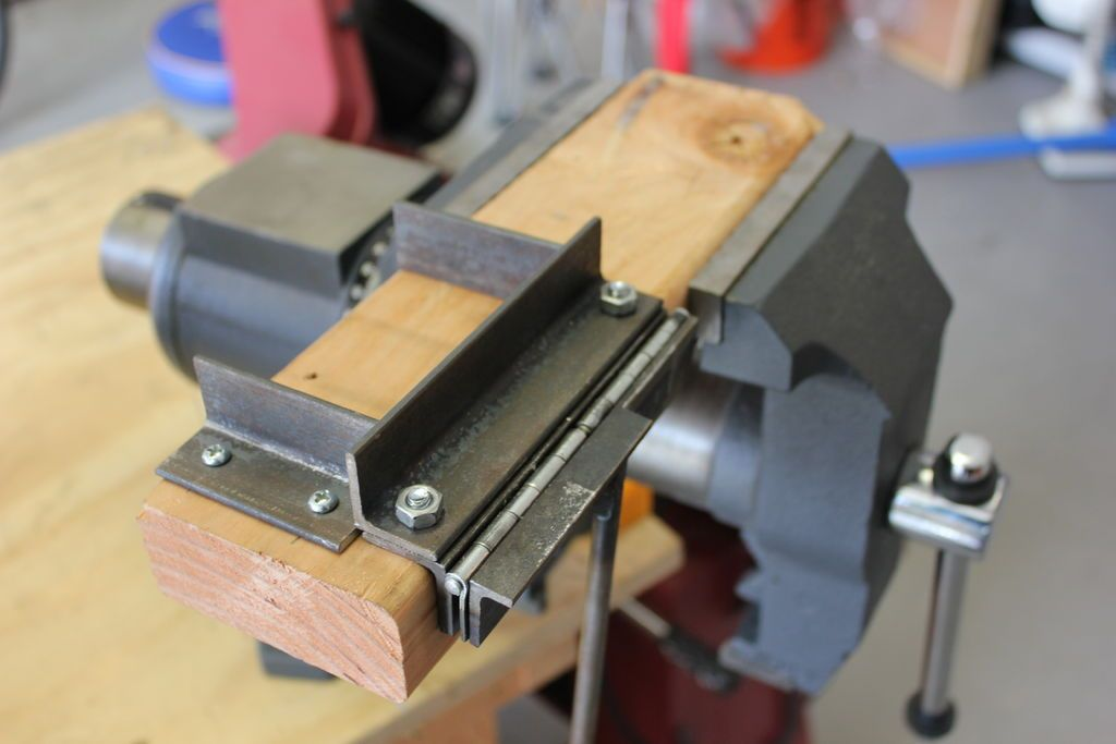 Homemade Mini Bend Brake Metal Bending Tools Metal Bending Sheet Metal Brake