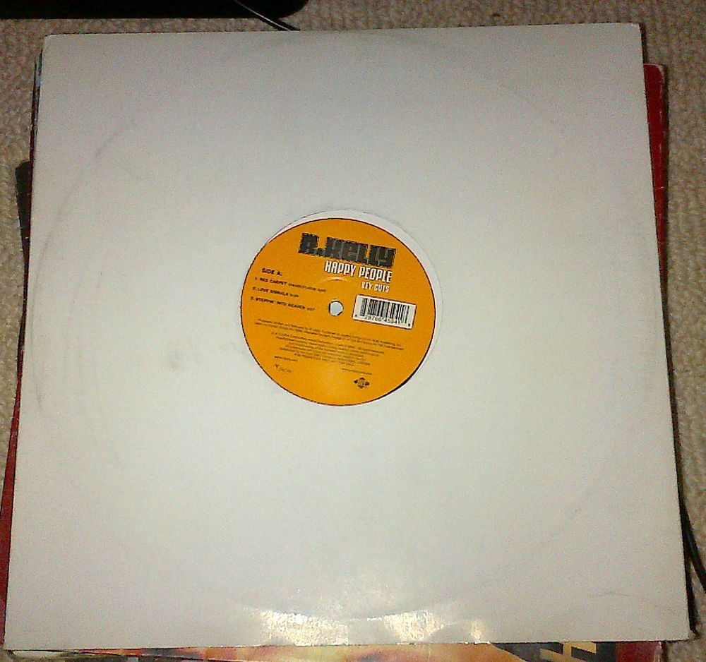 R Kelly Happy People Key Cuts 12  Vinyl Record Hip Hop R&B #rozasebay #ebay #ebayuk #uniqbeats
