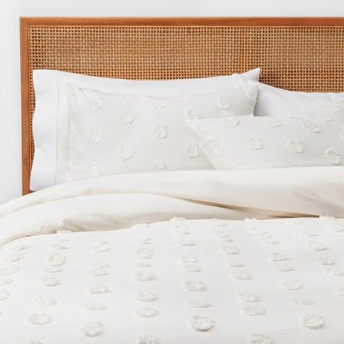Twin Twin Extra Long Textured Duvet Cover Set Cream Opalhouse With Images Textured Duvet Cover Textured Duvet Duvet Cover Sets