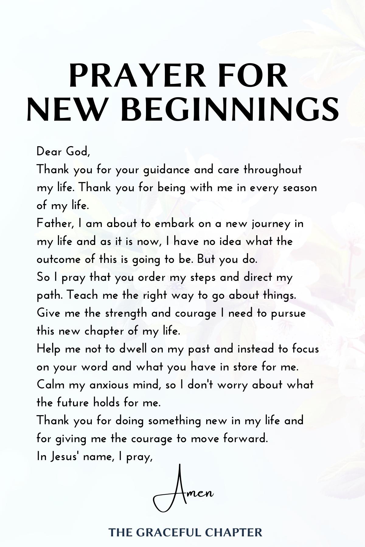 30 Encouraging Bible Verses On New Beginnings (Wit