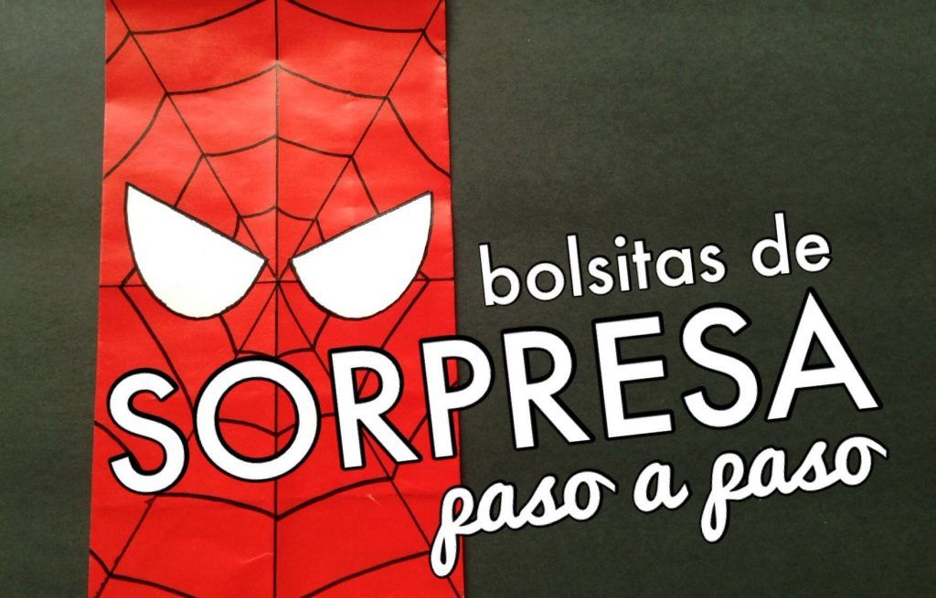 Bolsa De Papel Facil De Spiderman Spider