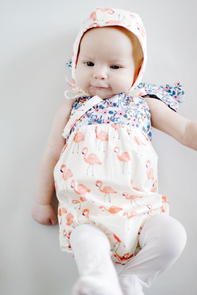 New Pattern! The BOHO Baby Romper | Pinterest