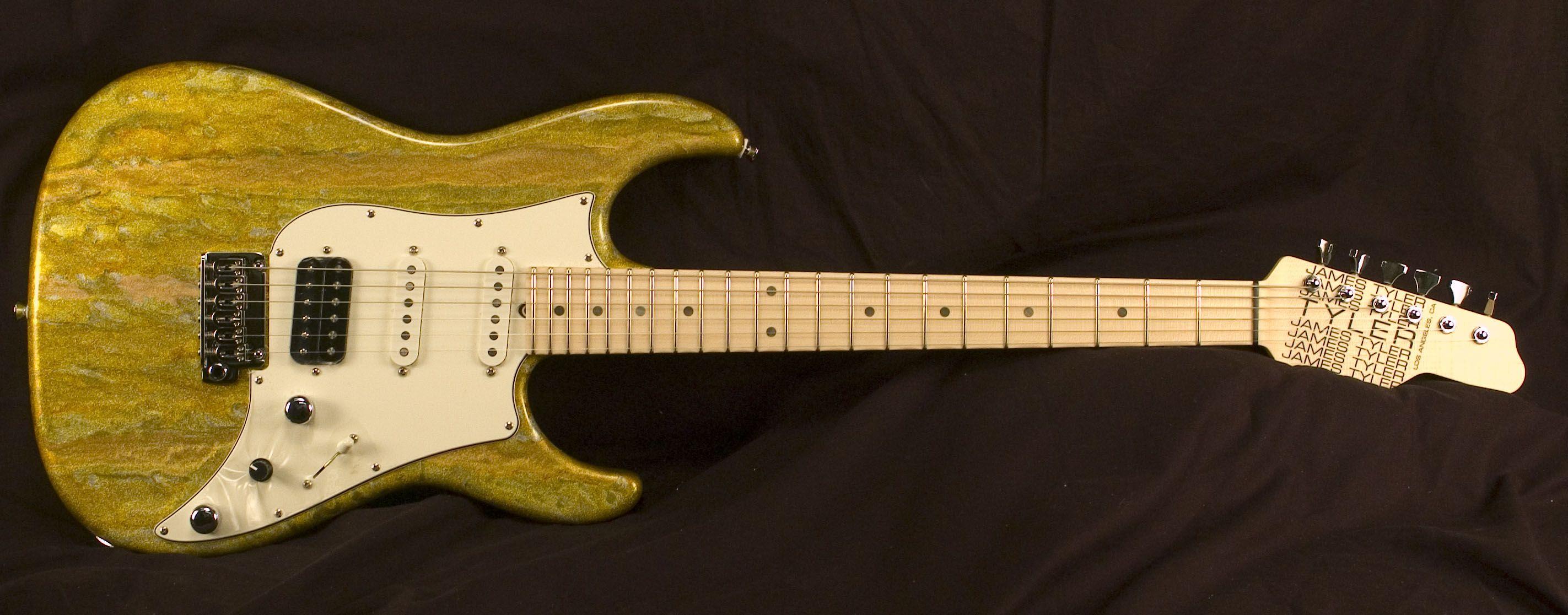 james tyler guitars studio elite lemon schmear guitar guitar music instruments. Black Bedroom Furniture Sets. Home Design Ideas