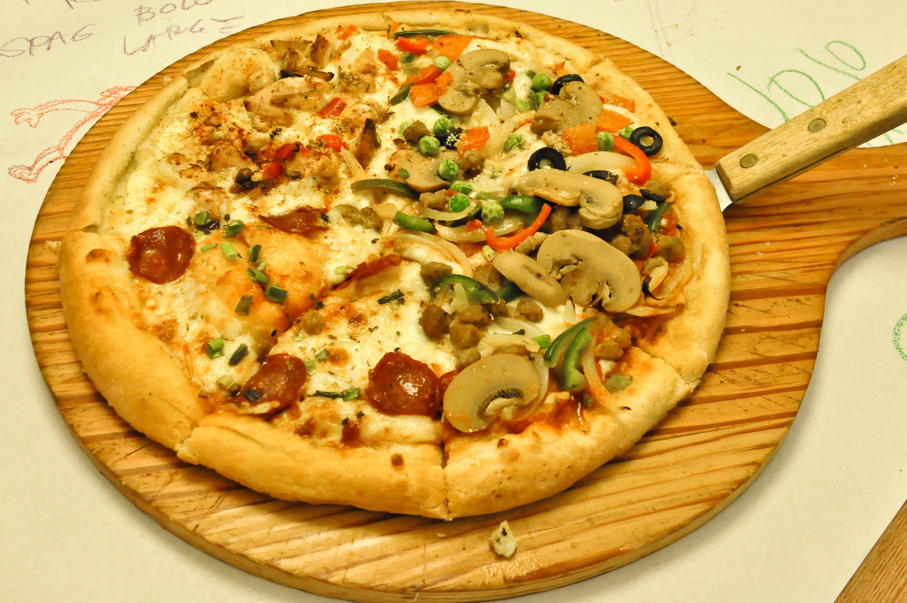 Pizza sampler @ Burgoo