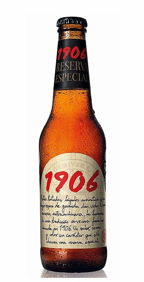 Estrella Galicia 1906 Reserva Especial, Amber Lager/Vienna 6,5% ABV (