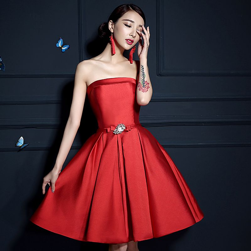 Red cocktail dress under $50 homecoming dresses