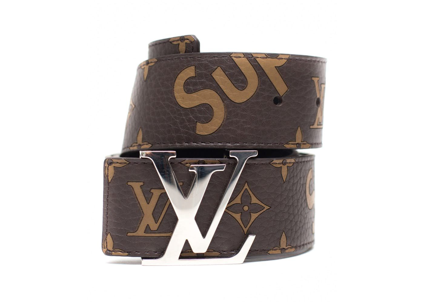 Louis Vuitton x Supreme Initiales Belt 40 MM Monogram