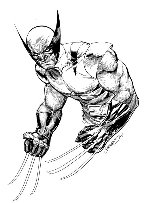 Wolverine by Brandon Peterson | Marvel heros | Pinterest | Los ...